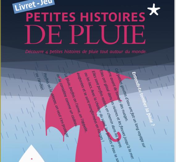 Illustration Livret jeu  musée du Quai Branly : Petites histoires de pluie
