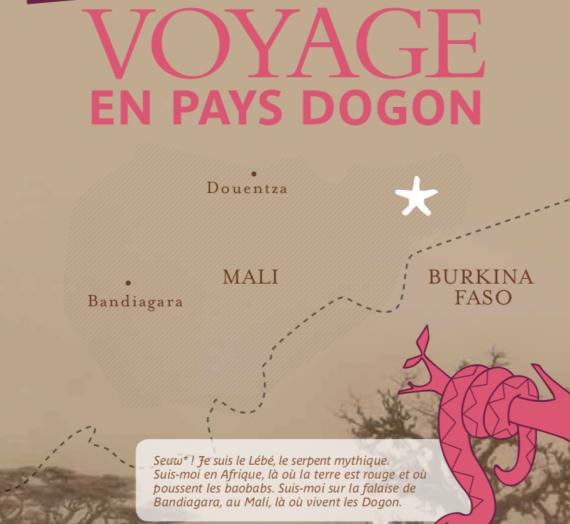 Illustrations Livret jeu  musée du Quai Branly : Voyage au Pays Dogon