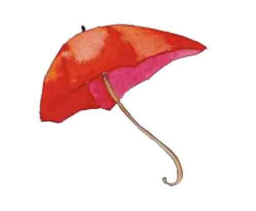 15ème liste :  L'ombrelle rouge