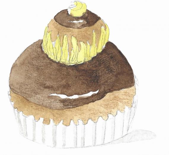 81ème liste :  Une religieuse au chocolat